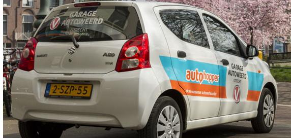 Huurauto Utrecht Autohopper autoweerd verhuur