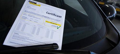 Nationale Auto Pas Vakgarage Autoweerd Utrecht