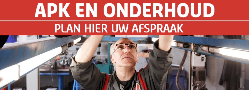 APK en onderhoud bij Vakgarage Autoweerd Utrecht