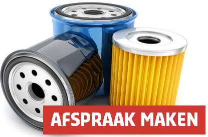 Oliefilter, interieurfilter, roetfilter, brandstoffilter, of luchtfilter vervangen bij Vakgarage Autoweerd Utrecht filters