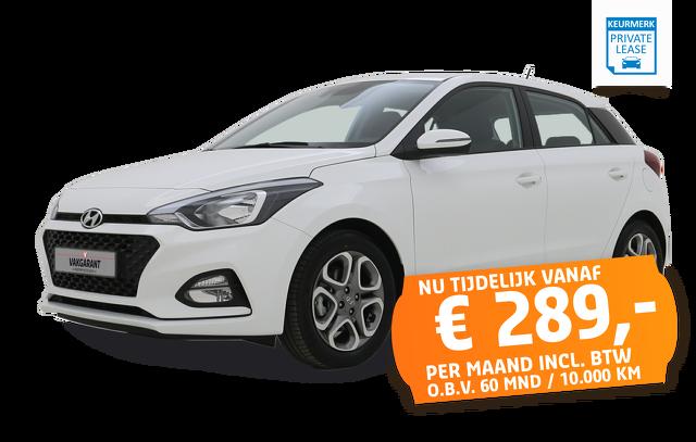 Vakgarage Autoweerd private lease leasen utrecht hyundai I20
