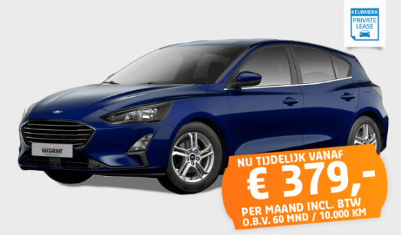 ford focus private lease vakgarage autoweerd
