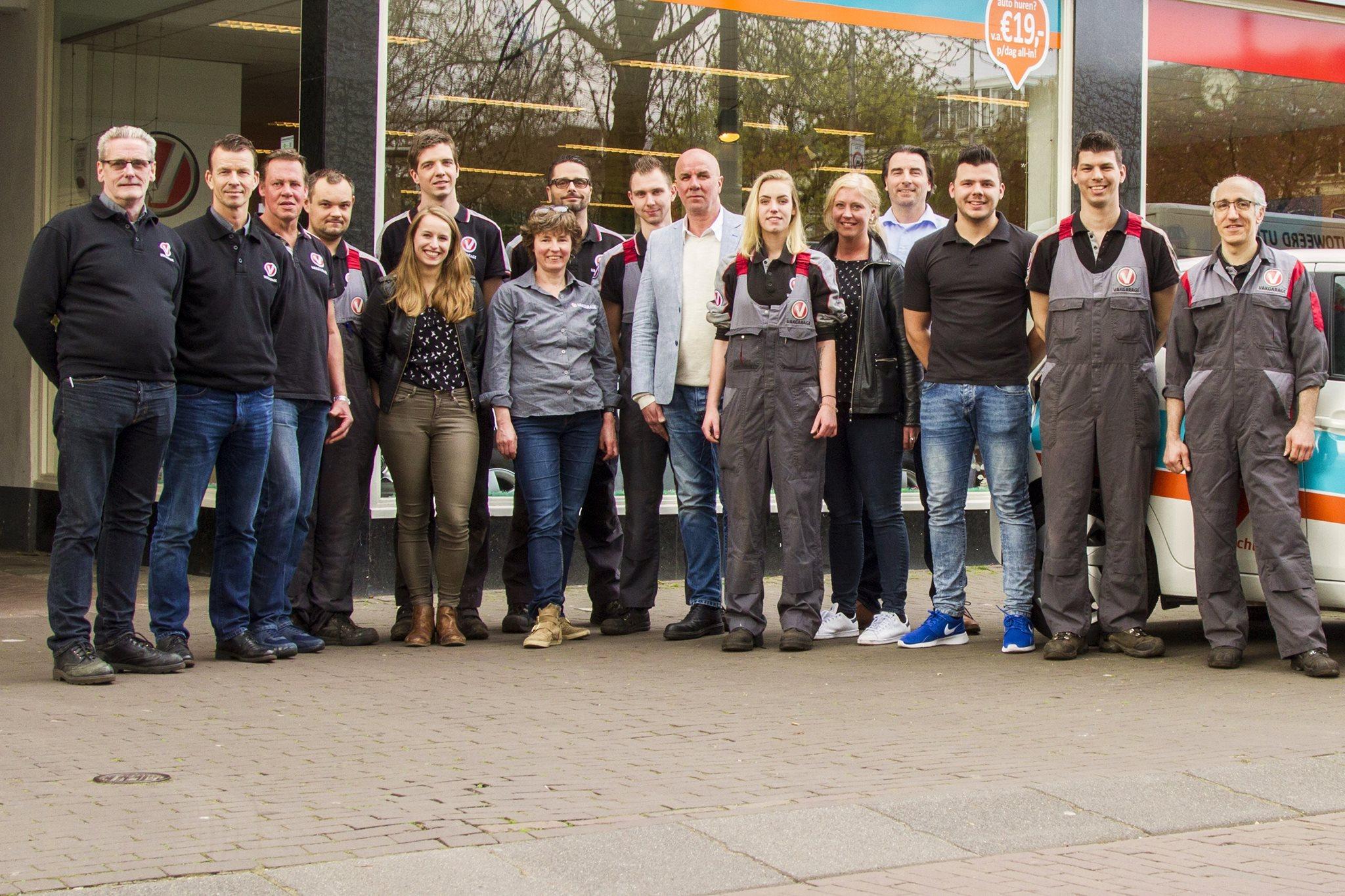 Team Vakgarage Autoweerd Utrecht